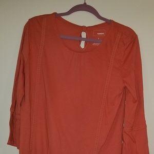 Orange Sonoma blouse